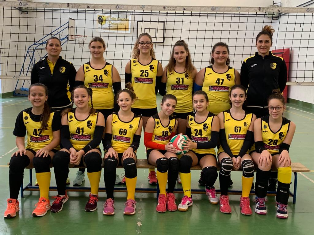 Volley Academy, weekend opaco per le formazioni giallonere