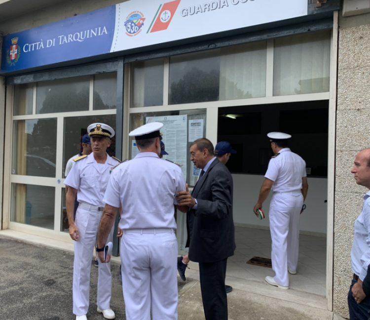 Capitaneria di porto: inaugurato l'ufficio di Tarquinia Lido