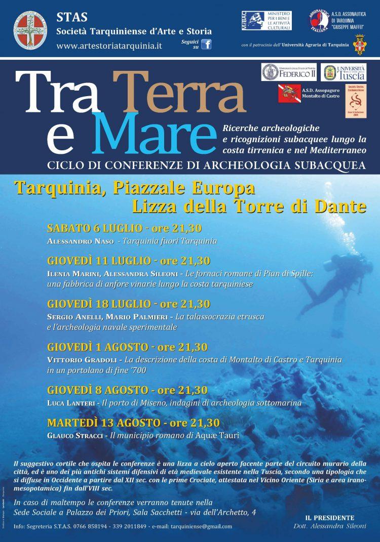 Alla Torre di Dante ciclo di conferenze di archeologia subacquea
