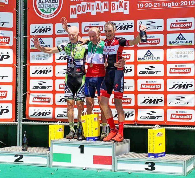 Mtb Santa Marinella: doppio podio tricolore Feltre e Magnante