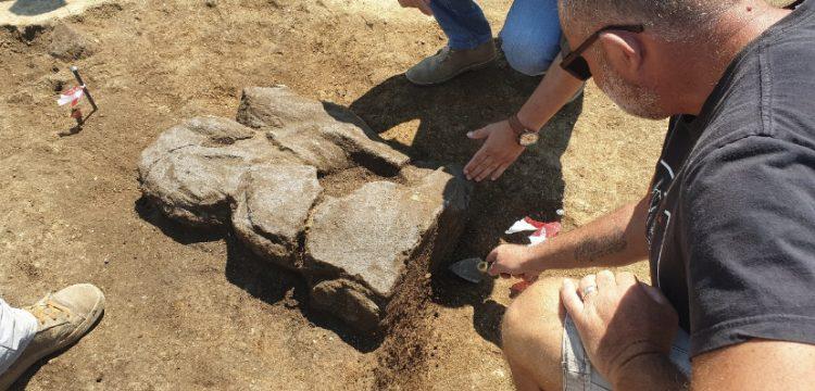Necropoli di Vulci: scoperto leone alato