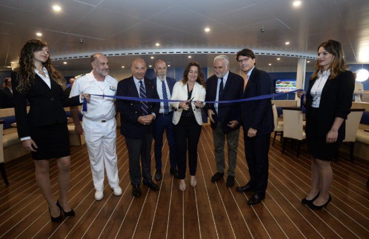 Cruise Roma: in porto a Civitavecchia la nuova nave ad emissioni zero
