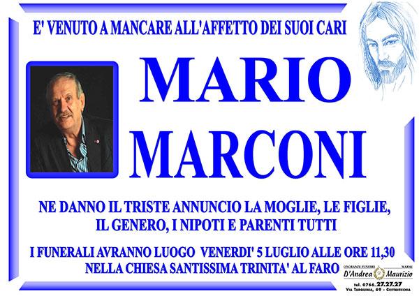 MARIO MARCONI