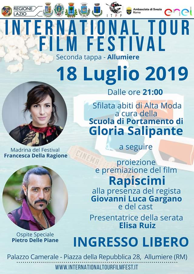 International tour film festival: tutto pronto per la seconda tappa dell'edizione 2019