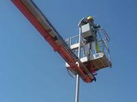 Lavori in corso per rinnovare l'illuminazione pubblica a Tragliatella