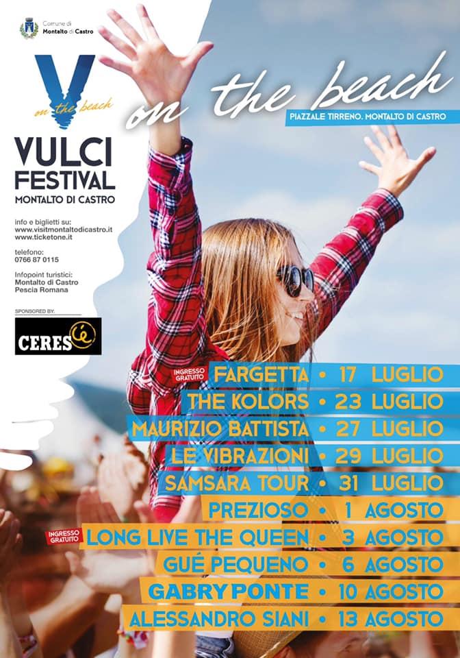Montalto, Fargetta apre il Vulci festival on the beach