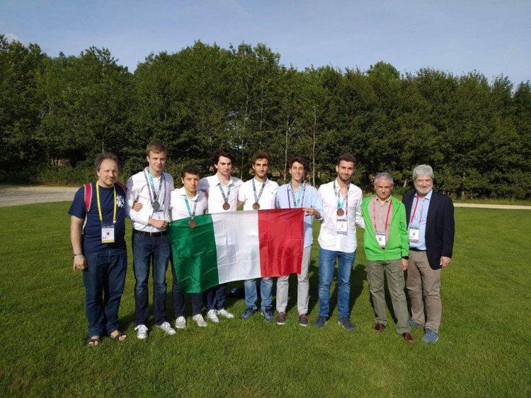 Massimiliano Foschi  medaglia d'argento a Bath