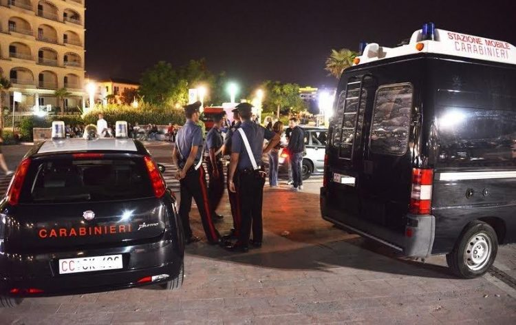 Carabinieri: un arresto e quattro denunce sul litorale