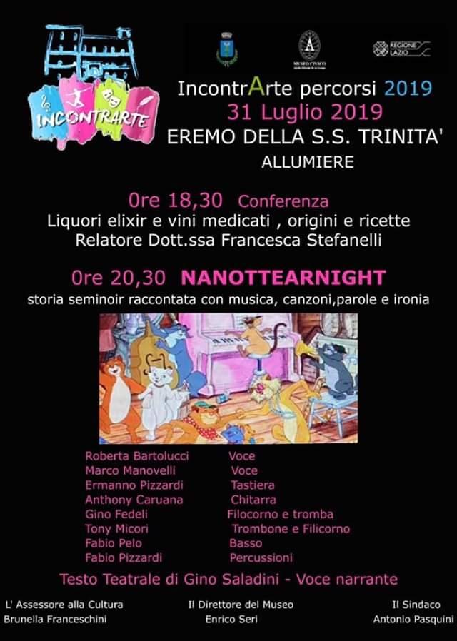 Uno spettacolo teatrale scritto dall'eclettico Gino Saladini