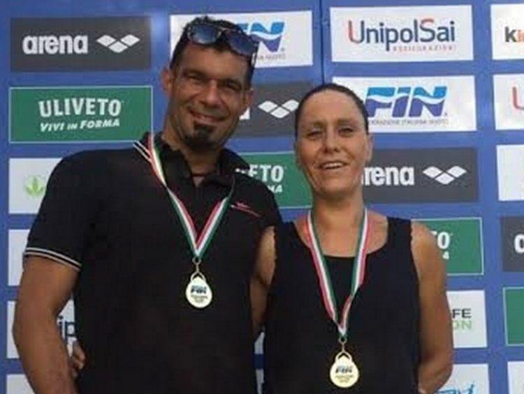 Valiserra e D'Amico, due argenti agli Italiani Master
