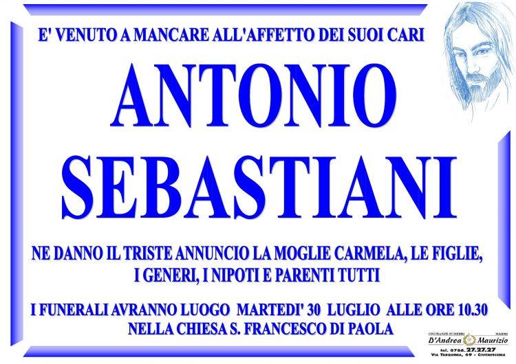 ANTONIO SEBASTIANI