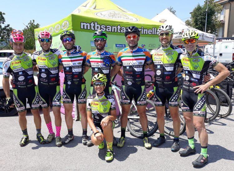Mtb Santa Marinella, una grande prova di squadra