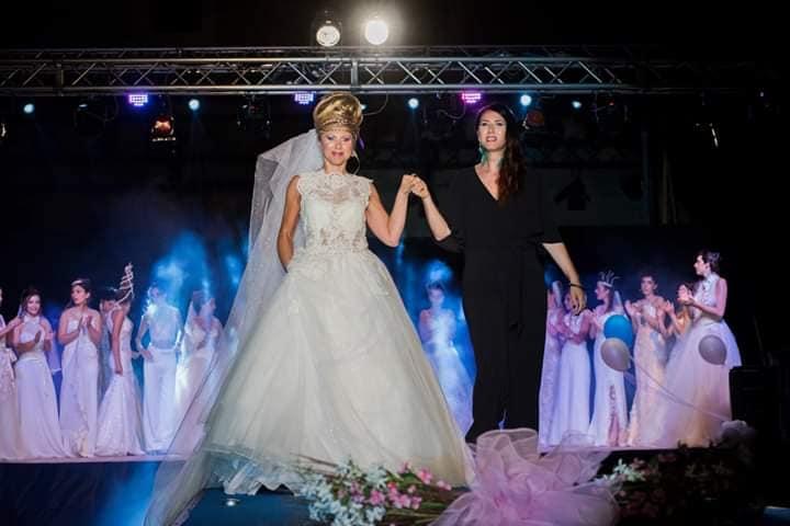 ''Arte, moda e cultura sotto le stelle'': brillano le creazioni di Mara Spose