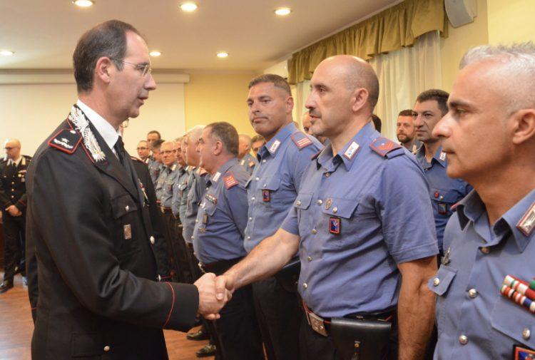 Il Comandante della Legione Carabinieri Lazio visita il Comando Provinciale di Viterbo