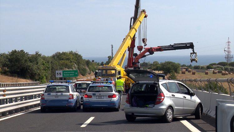 Incidente sull'A12: manovratore indagato per omicidio colposo