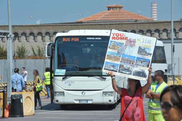 Agilo: ''Massiccia presenza nel porto di Civitavecchia di guide turistiche abusive''