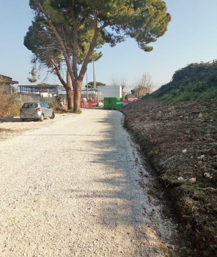 Stazione Marina di Cerveteri: il 1 marzo riapre il vialetto lato Campo di Mare