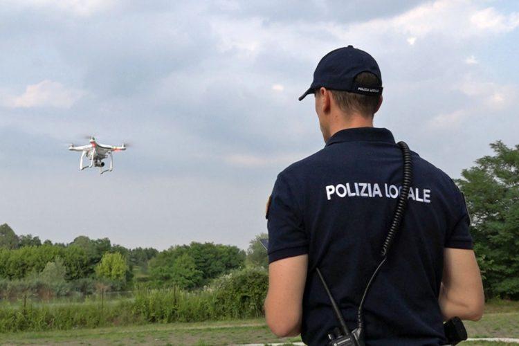 La Polizia locale si affida ai droni