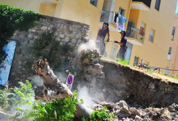 Via Isonzo: in due settimane il ripristino della strada