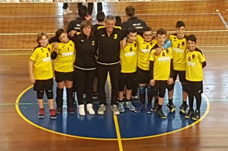 Troppo forte l'Under 13 della Volley Academy