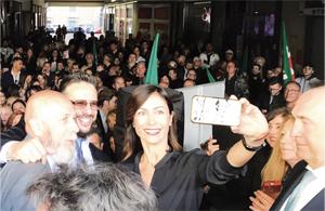 Apertura elettorale show  per Giancarlo Frascarelli