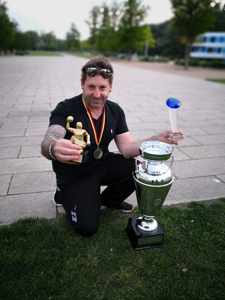 Fabiano Di Marco campione di Germania col suo Monaco