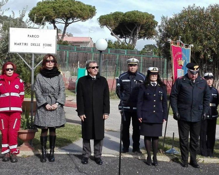 Santa Marinella, commemorati i martiri delle foibe