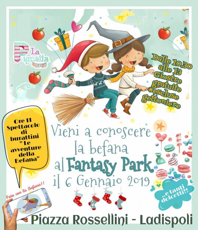 Arriva la Befana all'Ice Park di Ladispoli il 6 gennaio