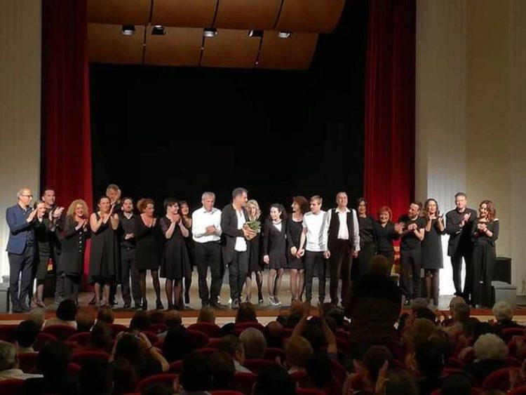 Workshop per attori, Pino Quartullo consegna gli attestati