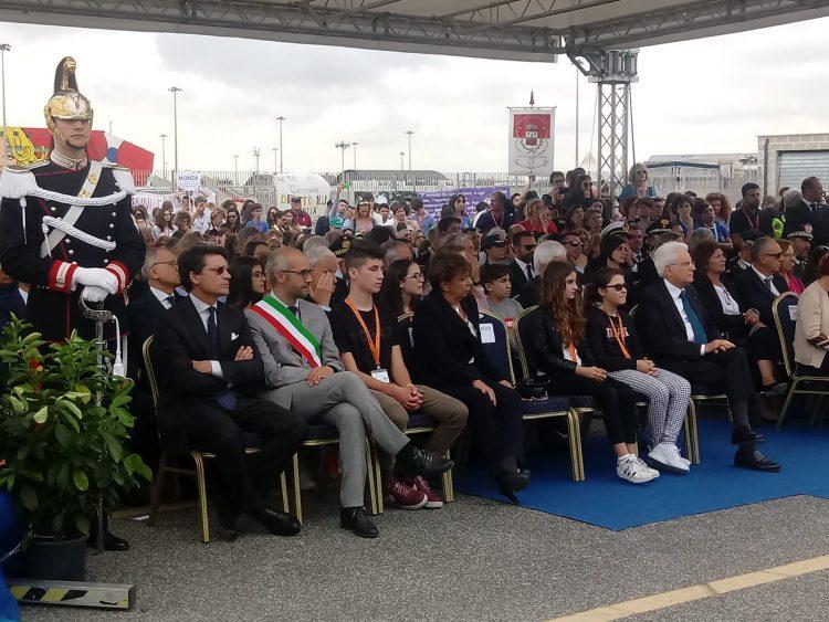 Nave della Legalità: Mattarella torna al porto di Civitavecchia