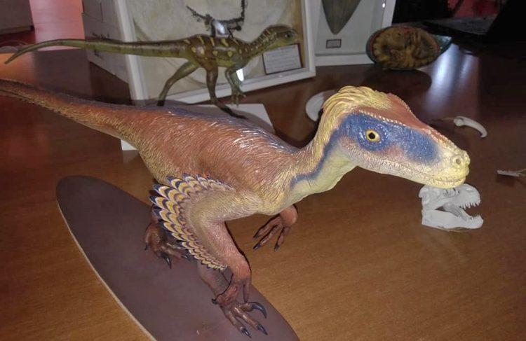 """Pienone per la presentazione di """"Dinosauria"""""""