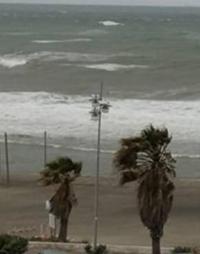 Burrasca sul litorale, onde alte tre metri e vento forza otto