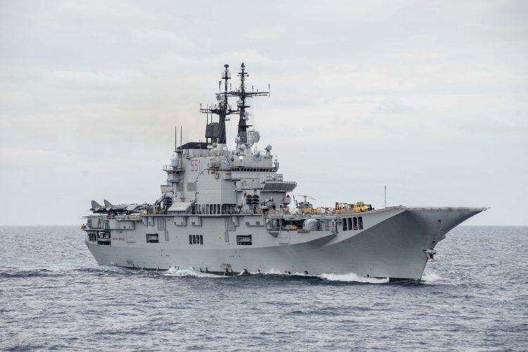 Marina Militare: Garibaldi e Rizzo in sosta al porto di Civitavecchia