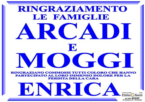 ENRICA MOGGI – Ringraziamento