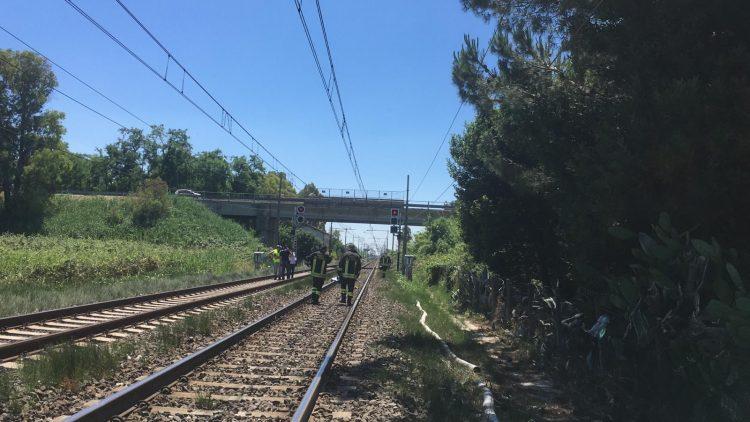 Incidente sui binari: traffico bloccato tra Maccarese e Ladispoli