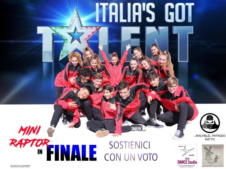 I Mini Raptor in finale ad Italia's Got Talent