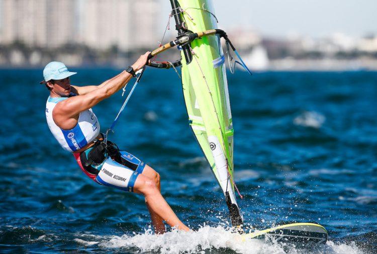 Mattia Camboni centra la Medal Race
