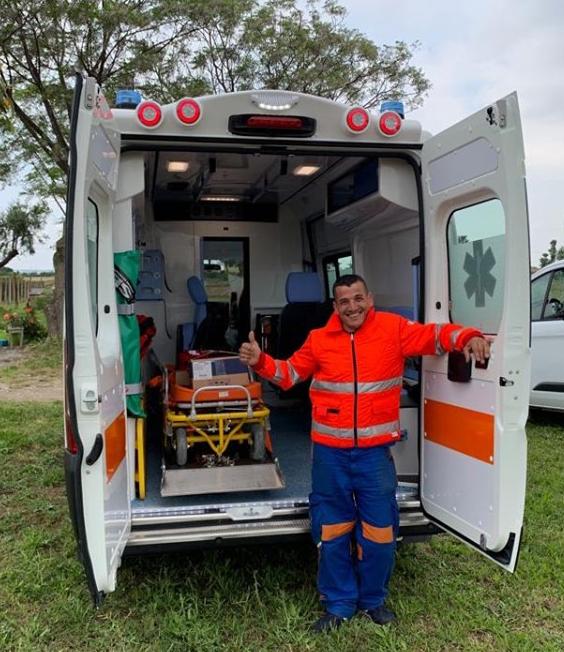 Assovoce: cerimonia nuova ambulanza
