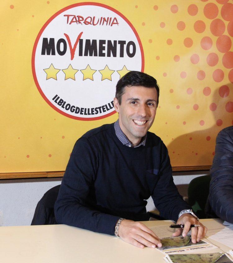 Amministrative Tarquinia, è ufficiale: Andrea Andreani è il candidato sindaco del Movimento Cinque stelle
