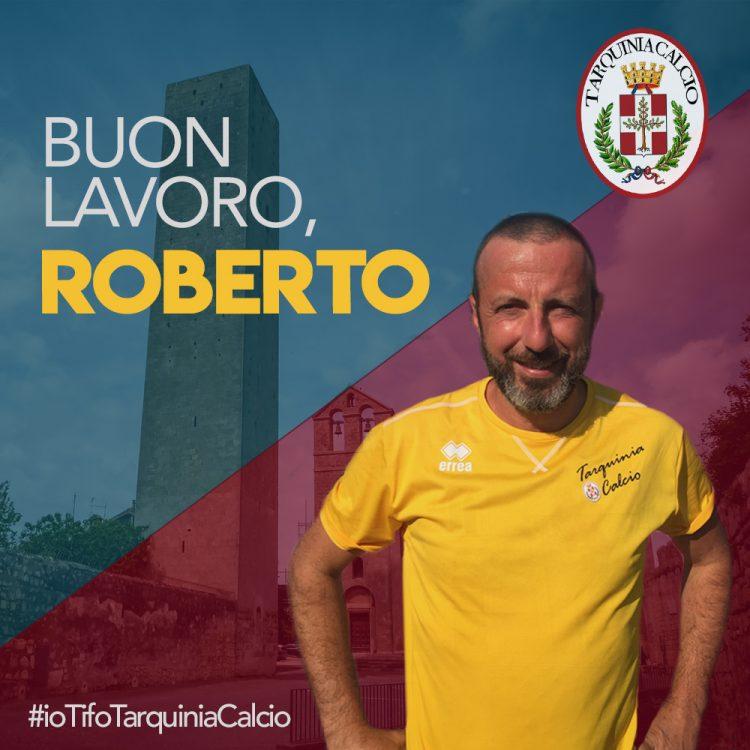 Roberto Blasi è il nuovo allenatore del Tarquinia calcio
