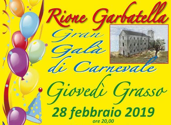 Gran galà di carnevale del rione Garbatella