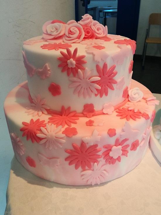 Lezione di cake design all'alberghiero di Ladispoli