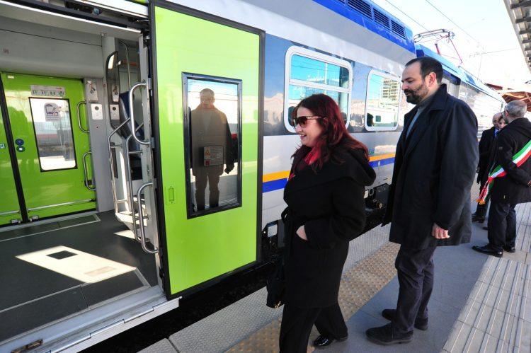 Tidei: ''Il treno per i crocieristi un grande successo della Regione''