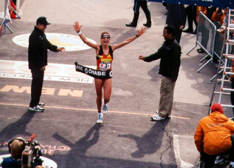Franca Fiacconi, regina della maratona di New York si è iscritta alla Runday di Ladispoli