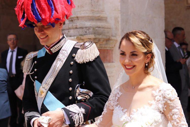 Il capitano Belilli e la sua Elisabetta hanno detto sì
