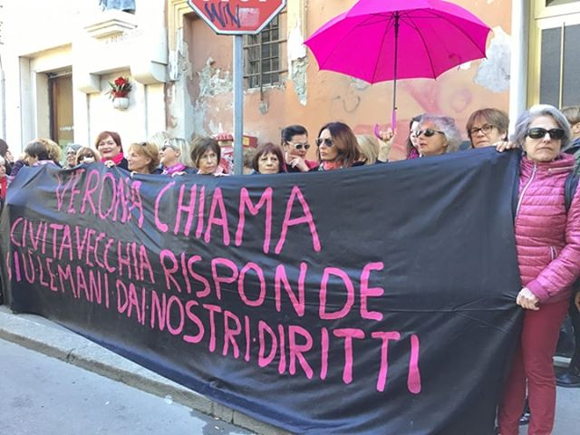 Verona chiama, Civitavecchia risponde: flashmob al mercato