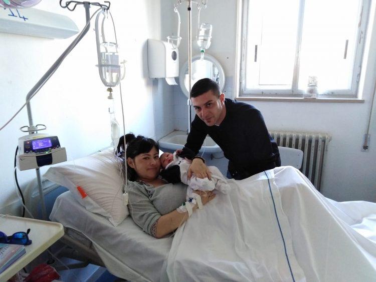Primo nato del 2019: la piccola  Gioia pesa 2,480 chilogrammi