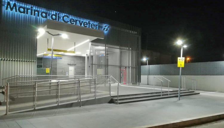 Stazione Marina di Cerveteri: quasi completati i lavori di restyling