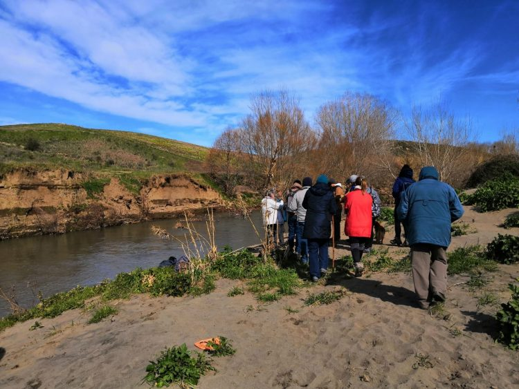Tarquinia, la valle del fiume Marta affascina e conquista gli escursionisti