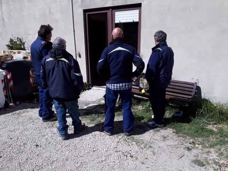 Operai comunali ''sfrattati'' da Villa Albani